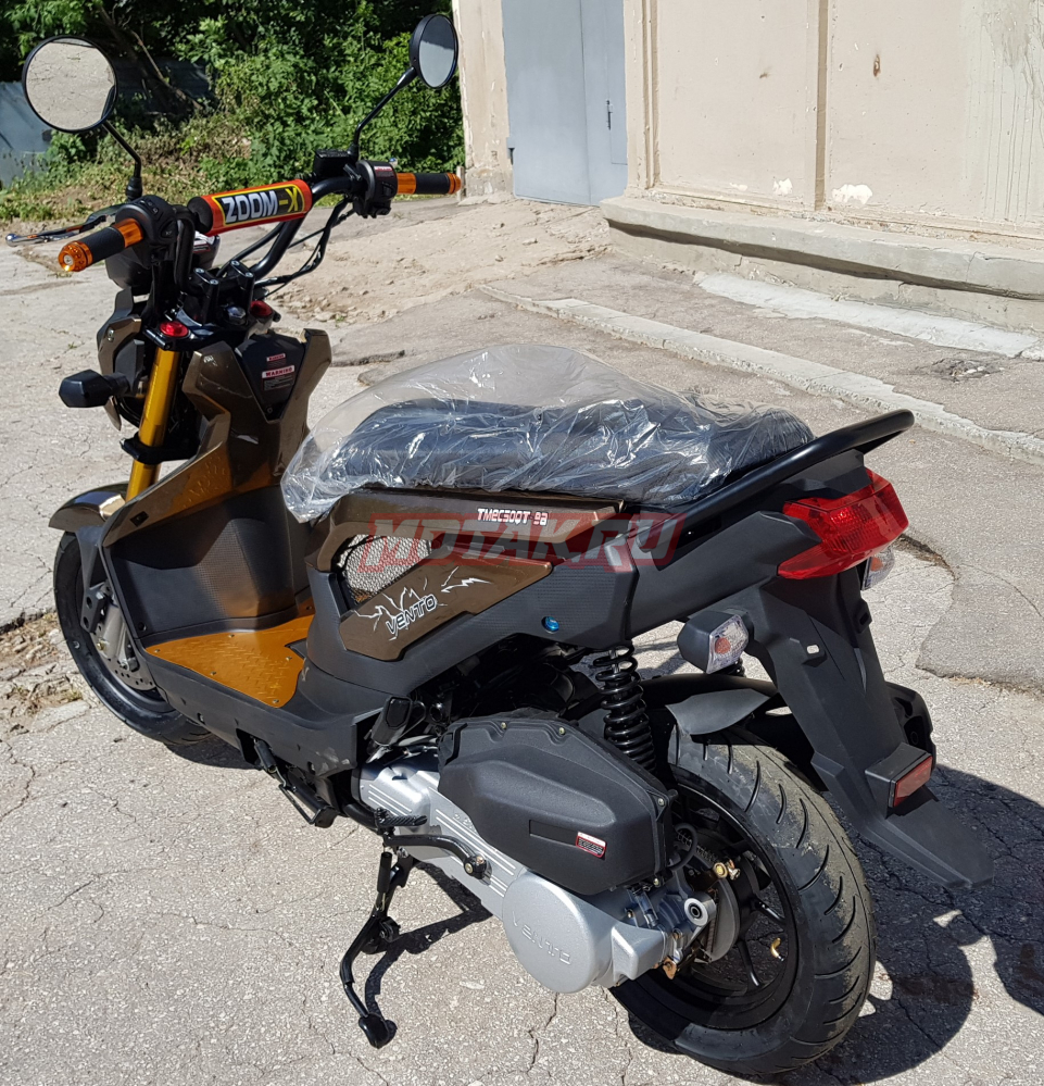 Скутер VENTO NAKED 49,6 cc (150)